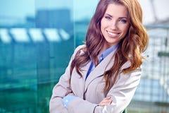 Agente immobiliare Woman Fotografia Stock