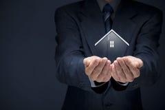 Agente inmobiliario Imágenes de archivo libres de regalías