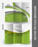 Agente inmobiliario Brochure ilustración del vector