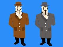 Agente investigativo Immagine Stock