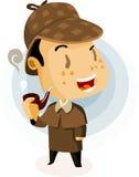 Agente investigativo britannico illustrazione di stock