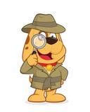 Agente investigativo Dog Fotografie Stock Libere da Diritti