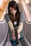 Agente investigativo femminile Immagine Stock