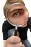 Agente investigativo privato dell'ispettore Fotografie Stock