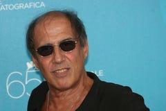 Agente italiano, cantante Adriano Celentano Foto de archivo libre de regalías