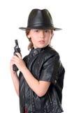 Agente secreto pequeno Imagens de Stock