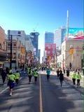 Agenten in Toronto stock afbeelding