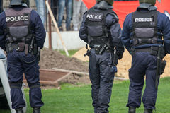 Agentes da polícia Fotografia de Stock