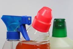 Agentes de limpeza Imagem de Stock