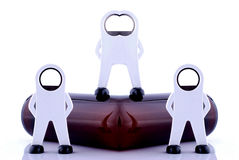 Agentes de seguran Imagem de Stock