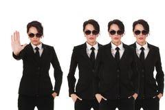 Agentes de serviço secreto Foto de Stock