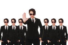 Agentes de serviço secreto Fotografia de Stock
