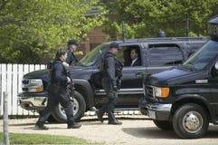 Agentes de servicio secreto Foto de archivo