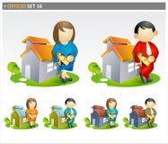 Agentes inmobiliarios libre illustration