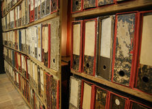Agents secrets de bibliothèque images libres de droits