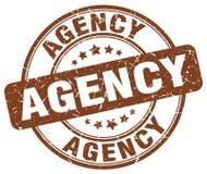 agentschap bruine zegel royalty-vrije illustratie