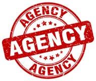 agentschap rode zegel royalty-vrije illustratie