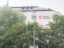 Agentura fà ¼ r Arbeit Rosenheim Zdjęcia Stock