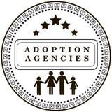 Agenzia di adozione del bollo Fotografia Stock