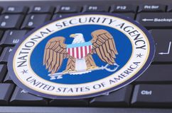 Agenzia di sicurezza nazionale Fotografie Stock Libere da Diritti