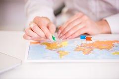 Agenzia di viaggi Fotografia Stock