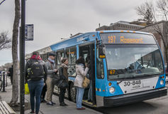 Agenzia metropolitana del trasporto Fotografia Stock Libera da Diritti