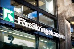 Agenzia svedese di assicurazione sociale Immagine Stock