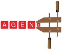 Agenzie ed agenti del meccanismo di bloccaggio Immagini Stock Libere da Diritti