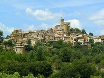 Ager, Lérida, España Imagen de archivo libre de regalías