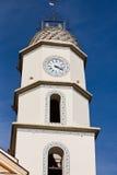 Agerola świętego Peter kościół steeple Zdjęcia Royalty Free