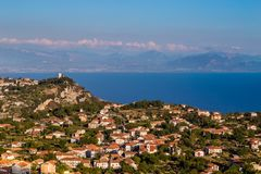 Agerola On Amalfi Coast - Campania Region, Italy. Agerola On Amalfi Coast - Salerno Province, Campania Region, Italy, Europe royalty free stock image