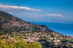 Agerola On Amalfi Coast - Campania Region, Italy. Agerola On Amalfi Coast - Salerno Province, Campania Region, Italy, Europe stock photography