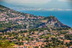 Agerola Na Amalfi wybrzeżu - Campania region, Włochy Obrazy Stock