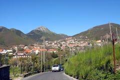 Agerola Włochy Fotografia Royalty Free