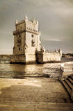 Agfed fotografia Belem wierza w Lisbon Zdjęcie Royalty Free