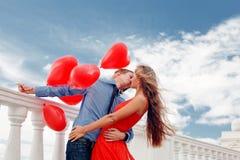 aggancio romantico Fotografia Stock Libera da Diritti