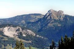 Aggenstein w Allgaeu Alps Zdjęcia Royalty Free