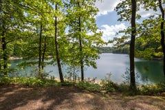 aggertal jeziorny Germany Fotografia Stock
