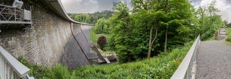 aggertalsperre Germany definici grobelna wysoka panorama Zdjęcia Royalty Free