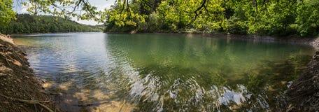 aggertalsperre Germany definici jeziorna wysoka panorama Obraz Royalty Free