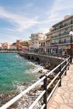 Aggi Nicolaos - Crete, Grecia Fotografie Stock