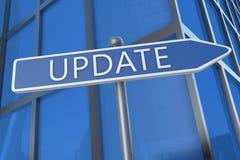 aggiornamento fotografie stock