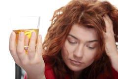 Aggiunta di alcool Fotografie Stock Libere da Diritti