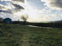 Agglomerato rurale fotografia stock
