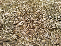 Aggregate Rock Texture. Close up picture of aggregate rock texture Stock Images