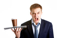 Aggression Stock Photography
