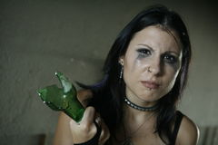 aggression victim Στοκ Εικόνες
