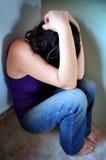 Aggressione sessuale Fotografie Stock Libere da Diritti