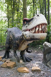 aggressiv dinosaur Royaltyfria Foton