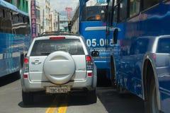 Aggressive Driving Stock Image